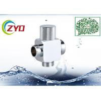 1/2MX3/4MX3/4M Brass Chrome Plated Three Way  Square t Shower System Faucet Water Diverter Shower Hose Seperator Manufactures
