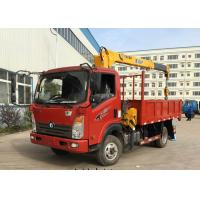 China Mechanical Engineering Truck Mounted Mobile Crane / Truck Mounted Lifting Equipment on sale