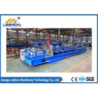 C80-300 C Purlin Roll Forming Machine , Full Automatic C Channel Roll Forming Machine Manufactures