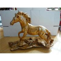 China Resin horse figurine statues on sale