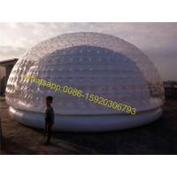 Buy cheap giant outdoor dome tent for sale from wholesalers