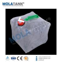 China Camping poly water storage tank manufacturer clear plastic water tank on sale