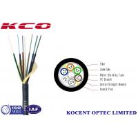 Buy cheap Micro Duct Optical Fiber Cable PE Sheath Multi Mode With High - Modulus Plastic from wholesalers