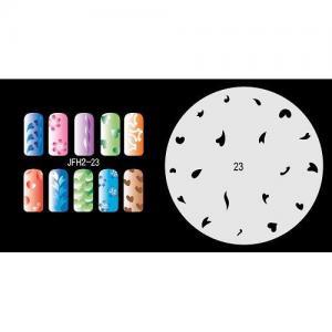 Airbrush nail stencil  2 Manufactures