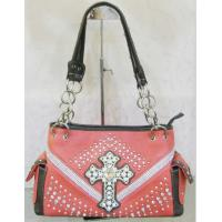 glass cross decorative beaded handbags popular for western cowgirl Manufactures