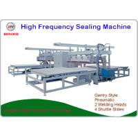 China Heavy Duty High Frequency Plastic Welding Machine With 4 Shuttle Slides on sale
