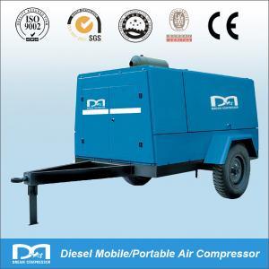 7-26Kw Mobile Diesel Screw Air Compressor Manufactures