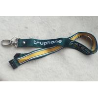 PP Material Promotional Printing Satin Lanyard With Custom Logo Manufactures