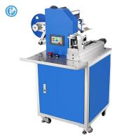 China Blue Self Adhesive Cable Labeling Machine Suitable AC / DC Wire on sale