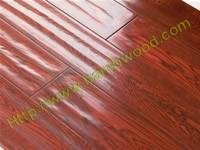 Hand Scraped Laminated Flooring Manufactures