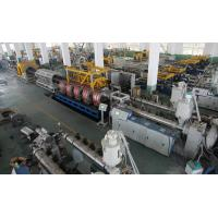 Double Wall Corrugated Pipe Production Line For HDPE / PP / PVC Pipe Manufactures