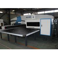 O Type Aluminium Punching CNC Punch Press Machine 4mm Sheet Thickness Manufactures