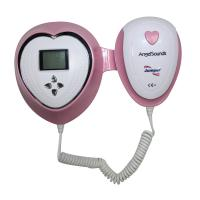 China with LED display Angelsounds fetal heart rate detector JPD-100S4  fetal doppler for baby monitor CE&CE approved on sale