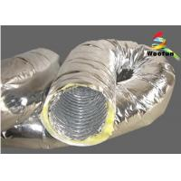 Quality Flexible Air Conditioning Insulated Flexible Ducting For Ventilation Application for sale