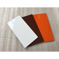 Rustproof Fire Rated Aluminium Composite Panel With Thermal Resistance Manufactures