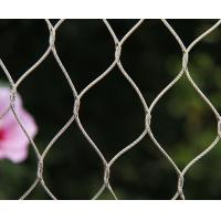 Knotted Flexible Wire Mesh 304 Stainless Steel Wire RopeCorrosion Resistant Manufactures