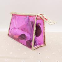 China Transparent Cosmetic Packaging Bag Clear Ziplock Pvc Bag For Cosmetics on sale