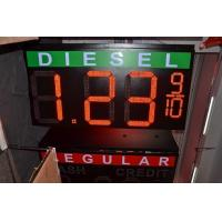 High Refresh Rate LED Gas Price Signs Waterproof Outdoor With Video Processor Manufactures