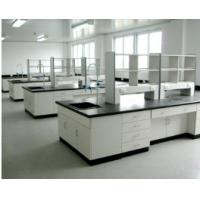 China Medical Electrical Laboratory Furniture Table With Cabinets Storage and Wall Cupboard on sale