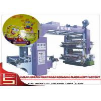 Auto Tension Controller Film Printing Machine With PLC Control Manufactures