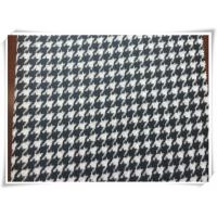 Hound Tooth Wooly - Bully Puppy Tooth Tartan Wool Fabric For Winter Manufactures