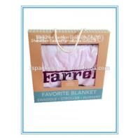 Kids Blanket Recyclable Materials Long Service Life Kraft Paper Packaging Box Manufactures
