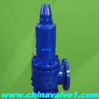 Balanced bellow safety valve with double tightness