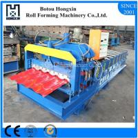 Roofing Glazed Tile Roll Forming Machine Full Automatic PLC Control Pump Manufactures