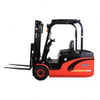 Large Capacity Electric Powered Forklift 2 Stage / 3 Stage AC Power Powered Pallet Truck Manufactures