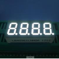 RoHS Four Digit 7 Segment  Common Cathode Led Display White 0.36 Inch Manufactures