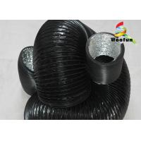 Flexible Ventilation Air Duct PVC Aluminum Collapsible Fire Resistance Manufactures