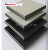 Grey corrosion resistant physical and chemical board,phenolic board,laboratory worktop use phenolic board Manufactures