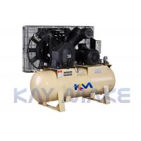 China High Pressure Piston Air Compressor With Powerful Head And Big Air Tank on sale