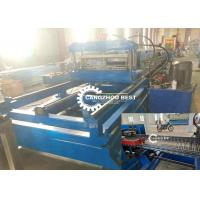 China Automatic Change Perforated Cable Tray Roll Forming Machine / Production Line on sale