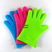 Durable kitchen five fingers silicone glove LOW MOQ and cheap price for sale