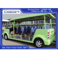 Fashion 14 Person Electric Tourist Car Max Forward Speed 30km/H For Hotel Manufactures