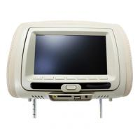 """China 7"""" TFT LCD screen Headrest Car DVD Players with  Dual channel IR transmitter on sale"""