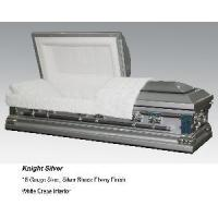 Quality Knight Silver Casket for sale