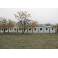 China Polystyrene Panel Residential Solid Prefabricated Conex Box Homes on sale