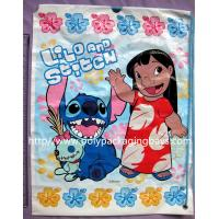 easy open and close Plastic Drawstring Backpack Gift Packaging / Toy Packaging Bags for sale