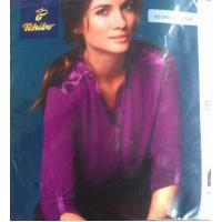 Good quality women apparel stock lots Plus size ladies Modal stretch casual business shirt Manufactures