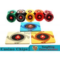 3.3mm Thickness 12 - 32g Casino Poker Chips / Customized Ceramic Chip Can be custom Manufactures