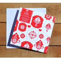 Buy cheap greeting cards custom print, a4 greeting card, Board Games Printing, Christmas from wholesalers