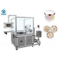 China High Speed Cosmetic Filling Machine , Patterned Foundation Paste Filling Machine on sale