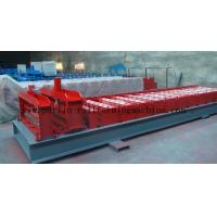 Glazed Tile Roll Forming Machine , Zinc Roofing Sheet Tile Making Machine China Glazed Tile Manufactures