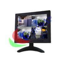 Widescreen  Portable Lcd Monitor For Professional Security , 8 Inch Panel Mount Touch Screen Manufactures