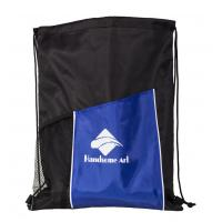 210d Polyester Drawstring Shopping Bag with Low Price-HAD14021 Manufactures