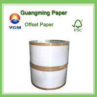60g 70g 80g Wood Free Offset Printing Paper Uncoated Fine Paper Folding Resistance Manufactures