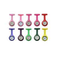 China Customerized Promotion Silicone Nurses Fob Watch With Silicon Wristband 85 x 39mm on sale