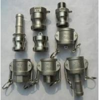 Quality stainless steel male end threaded camlock couplings E TYPE for sale